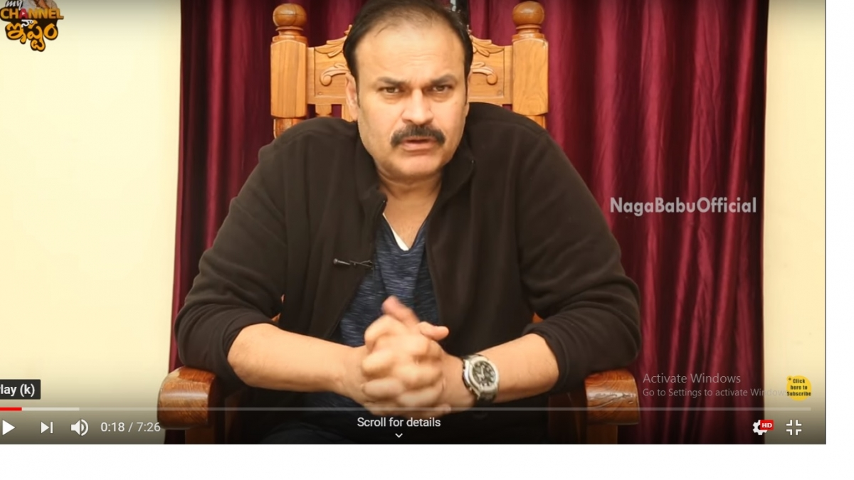 'Tahan lidahmu Tuan Balakrishna,' kata Naga Babu; menuntut permintaan maaf
