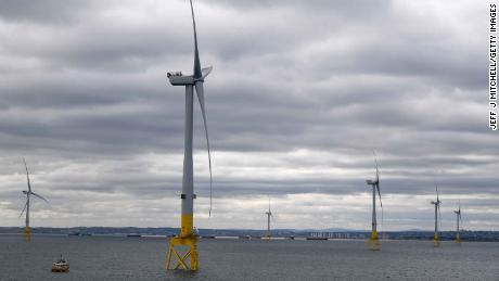 Offshore wind could power the world