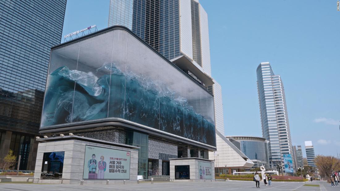 SMTown COEX: Gelombang 3D raksasa menyapu Distrik Gangnam Korea Selatan