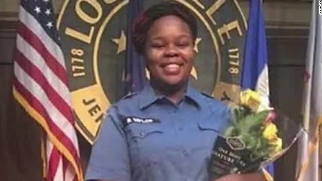 Breonna Taylor, 26, was killed during a police raid of her Kentucky apartment.