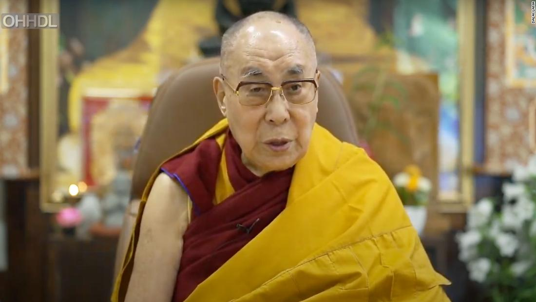 The Dalai Lama blamed discrimination and racism for the death of George Floyd in Minnesota.
