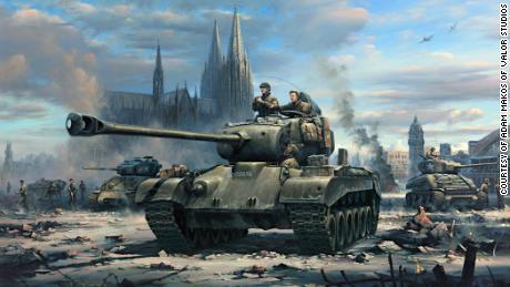 Pahlawan Perang Dunia II kembali ke Jerman untuk memecahkan misteri - dan bertemu musuh