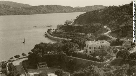 Garis pantai Macau pada tahun 1941.