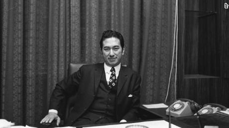 Stanley Ho telah mengumpulkan kekayaan pada akhir Perang Dunia II. Gambar ini dari tahun 1971.