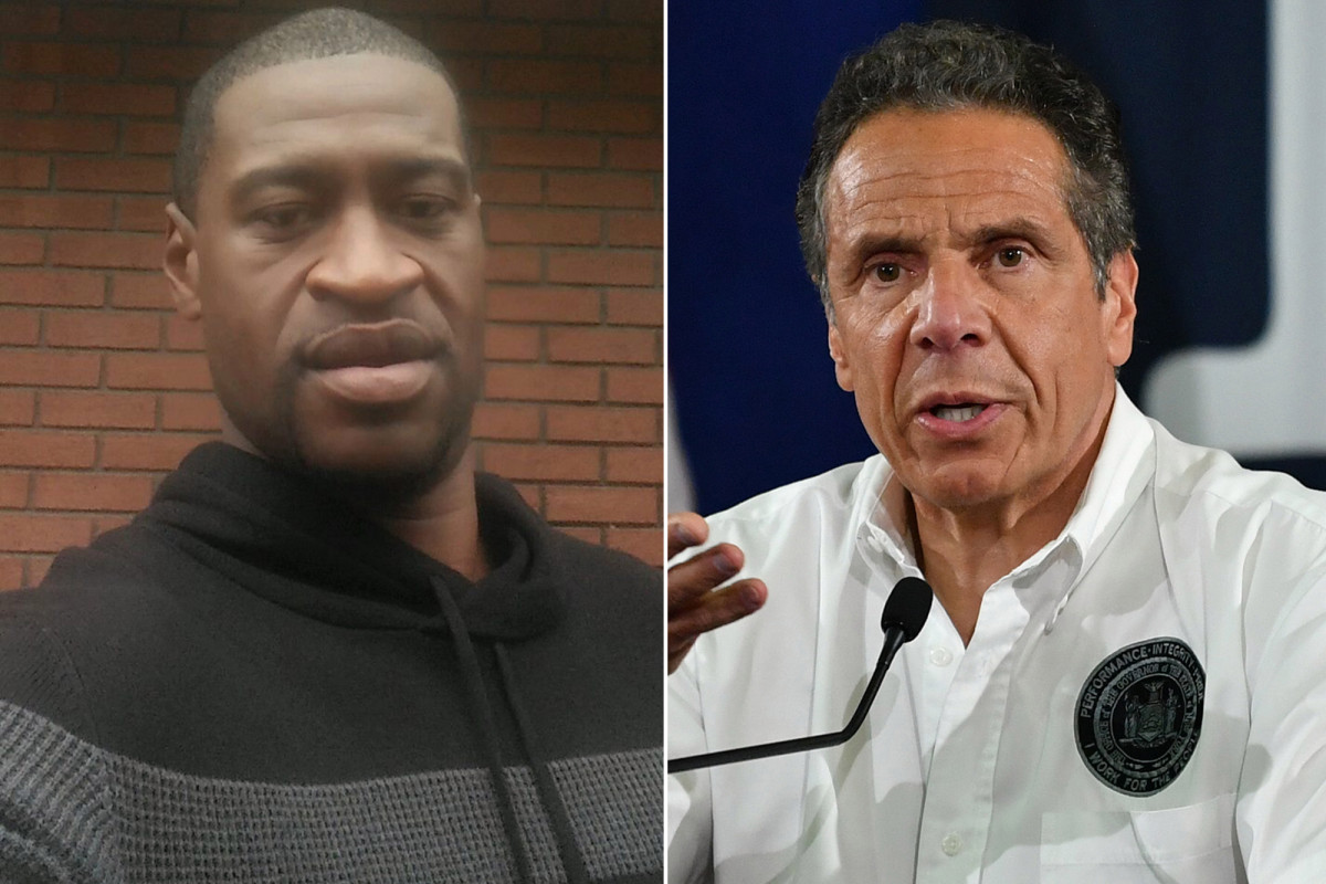 Andrew Cuomo says George Floyd cop should 'absolutely' face criminal case