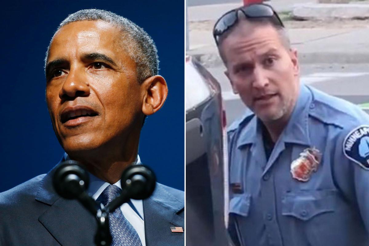 Komentar Obama tentang pembunuhan George Floyd