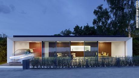 Arsitek Jerman, Aktivhaus mengatakan rumah ini menghasilkan energi dua kali lebih banyak daripada yang dikonsumsi.
