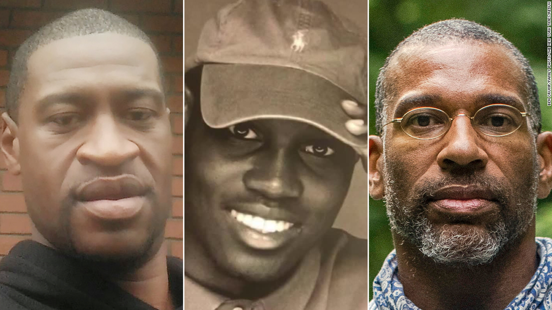 George Floyd's brother: I'm tired of seeing black men die