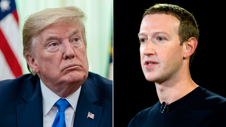 Trump dan Zuckerberg berbicara di telepon Jumat