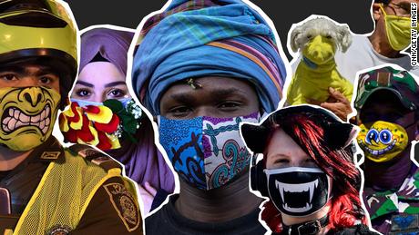 Pada tahun 2020, topeng tidak hanya untuk perlindungan - topeng digunakan untuk membuat pernyataan