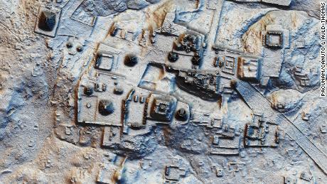 Pemetaan laser mengungkap puluhan kota Maya kuno