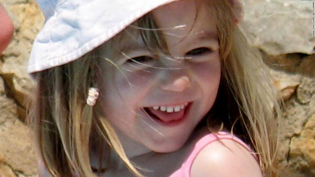 A picture released by the McCann family on May 24, 2007 shows missing British girl Madeleine McCann on May 3, 2007.
