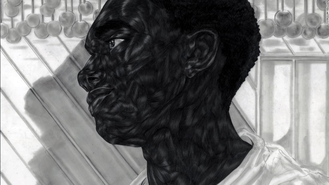 Artis Toyin Ojih Odutola menggambar potret kehidupan hitam yang rumit