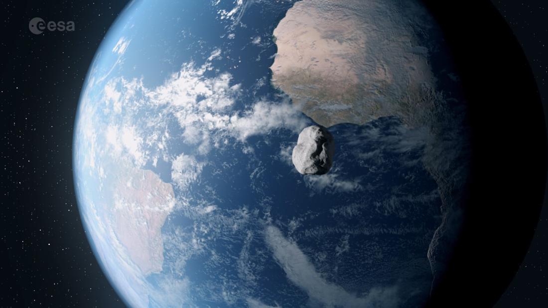 Asteroid seukuran enam lapangan sepakbola akan melaju cepat di Bumi pada Sabtu malam