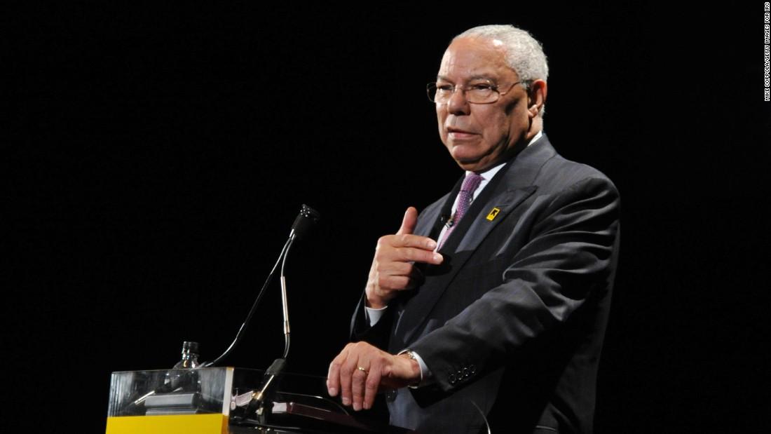 Colin Powell baru saja memanggil semua Republikan di Kongres