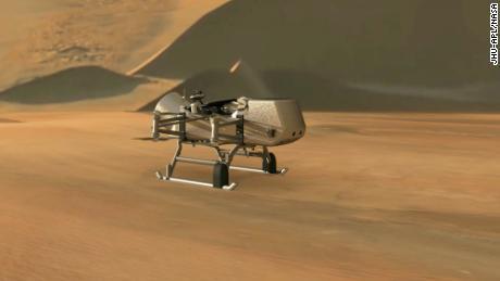 Misi baru NASA, Dragonfly, akan menjelajahi Titan bulan Saturnus