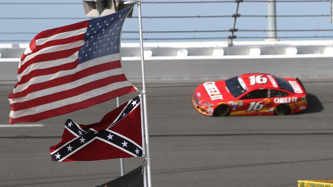 NASCAR melarang bendera Konfederasi - CNN
