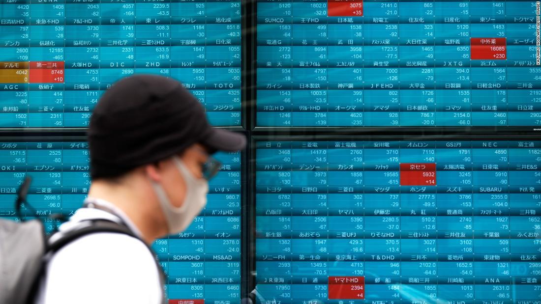 Pasar Asia jatuh setelah kekhawatiran virus AS memacu aksi jual Wall Street