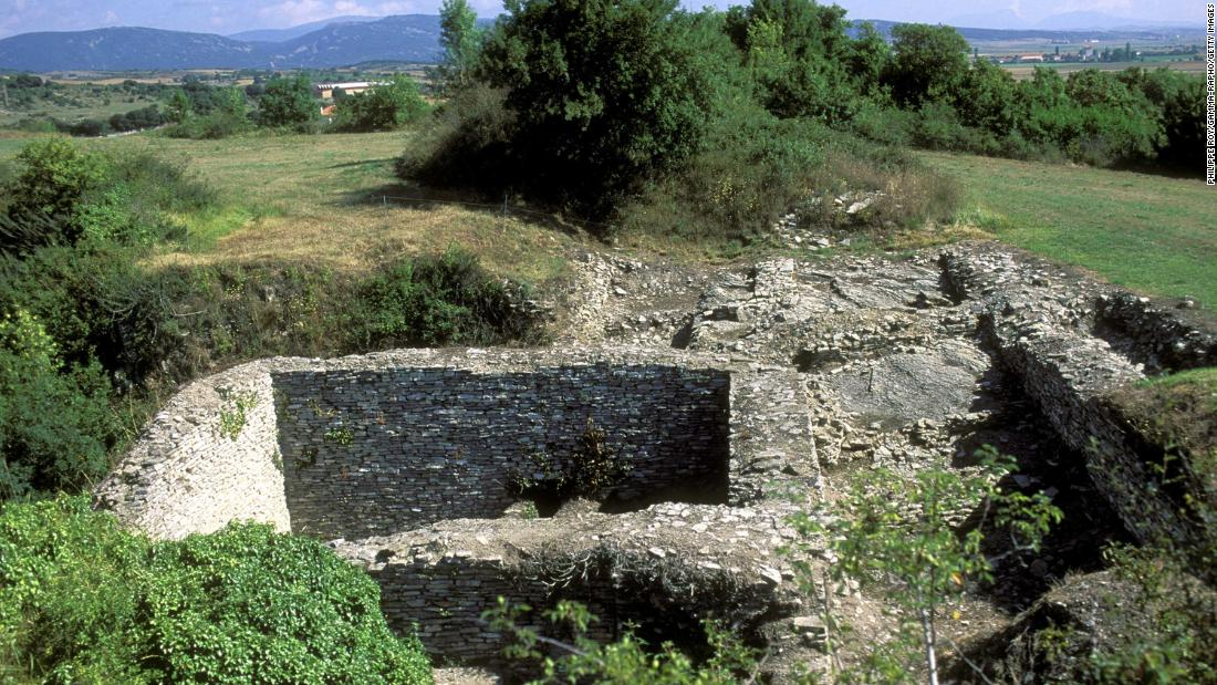 Gil and his team claimed to have found the artifacts at Roman archaeological site Iruña-Veleia, near the city of Vitoria-Gasteiz in Spain's Basque Country.
