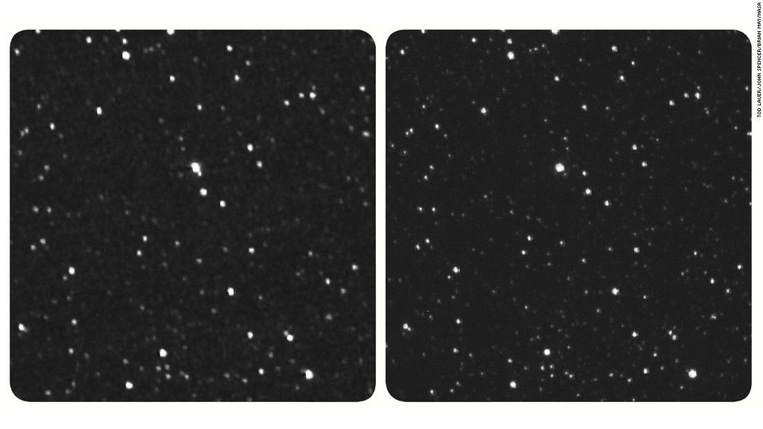Pesawat ruang angkasa NASA mengirimkan kembali gambar bintang dari jarak 4,3 miliar mil