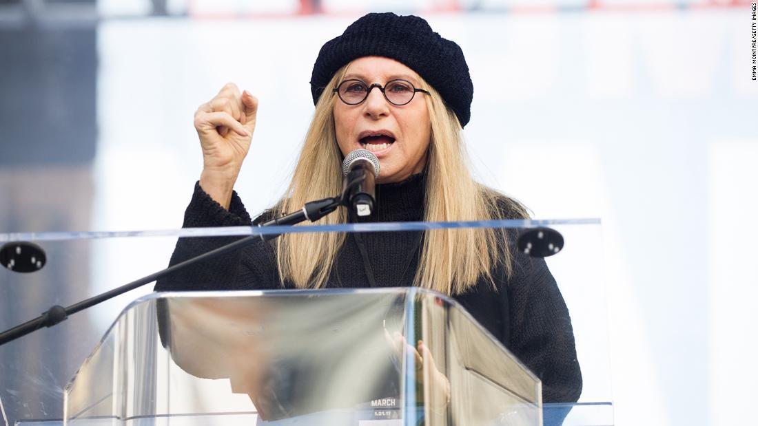 Barbra Streisand hadiah putri Disney dari George Floyd