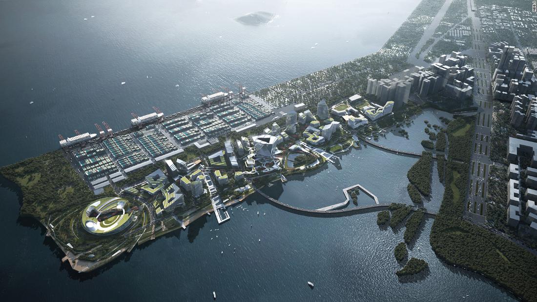 Net City: Tencent sedang membangun 'kota masa depan' seukuran Monako di Shenzhen