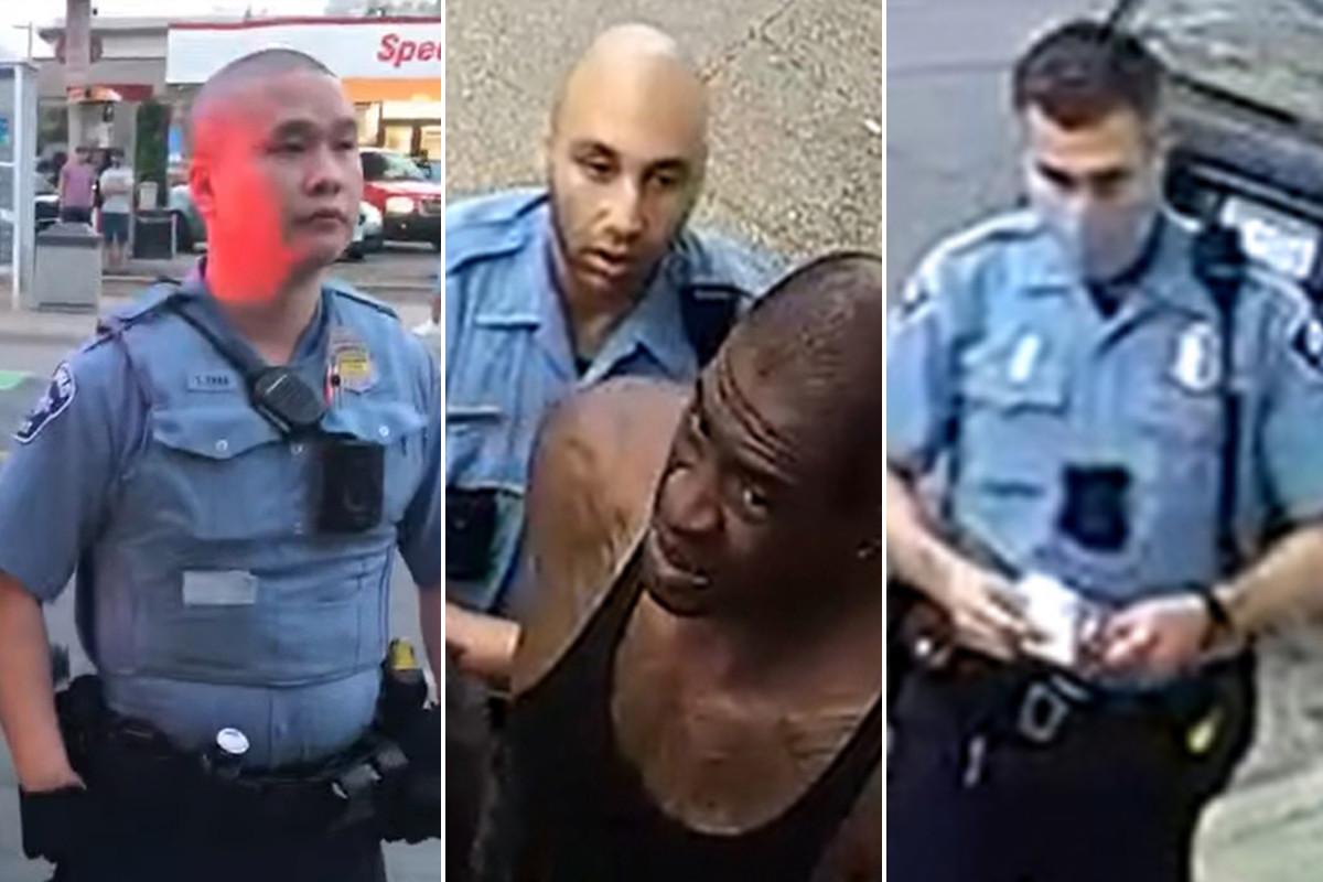 3 mantan polisi Minneapolis didakwa atas kematian George Floyd, 1 ditahan