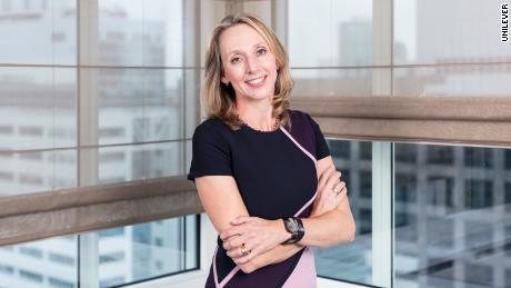 Hanneke Faber, presiden makanan dan penyegaran di Unilever.