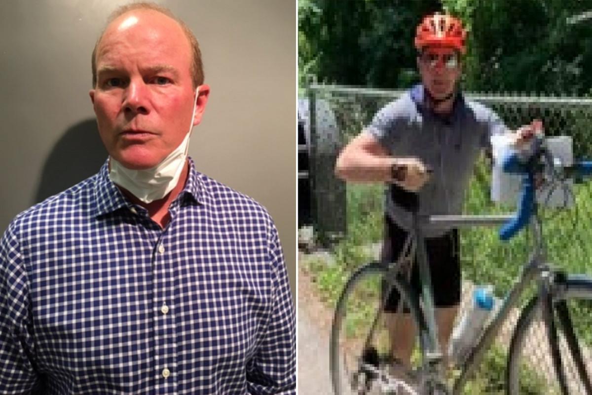 Bicyclist tercatat menyerang remaja karena poster-poster George Floyd ditangkap