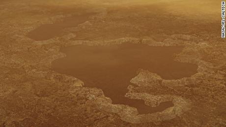 Danau di bulan Saturnus mungkin adalah kawah ledakan