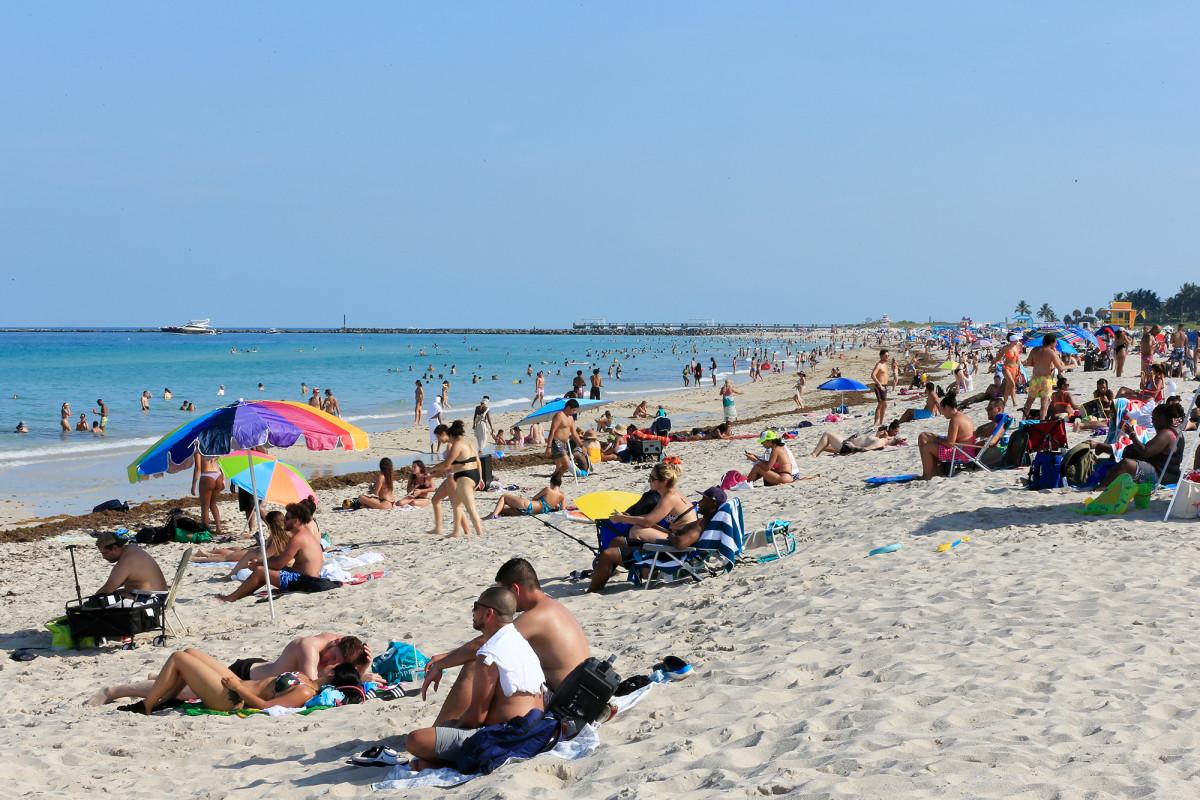 Florida menyaksikan hari ke 2 berturut-turut dari 2.000-plus kasus virus corona baru