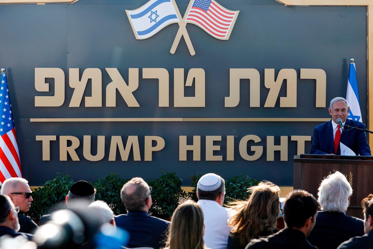 Israel menyetujui anggaran untuk membangun 'Trump Heights' di Golan Heights
