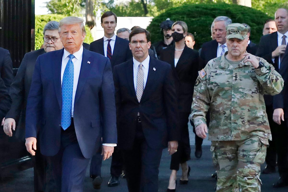 Jenderal Milley hampir mengundurkan diri setelah op foto gereja Trump, kata laporan
