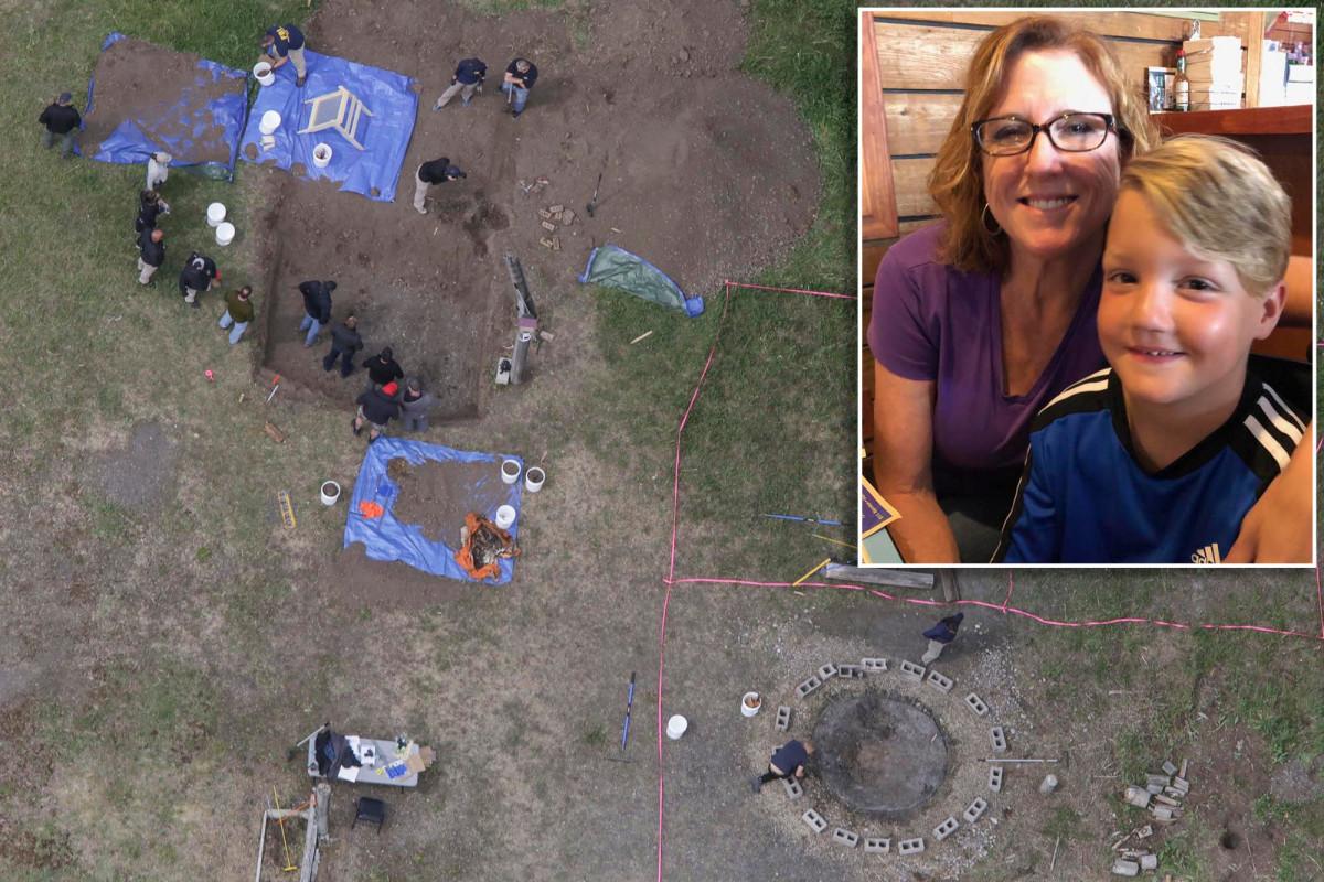 Kakek nenek dari putra Lori Vallow mengunjungi situs di mana masih ditemukan