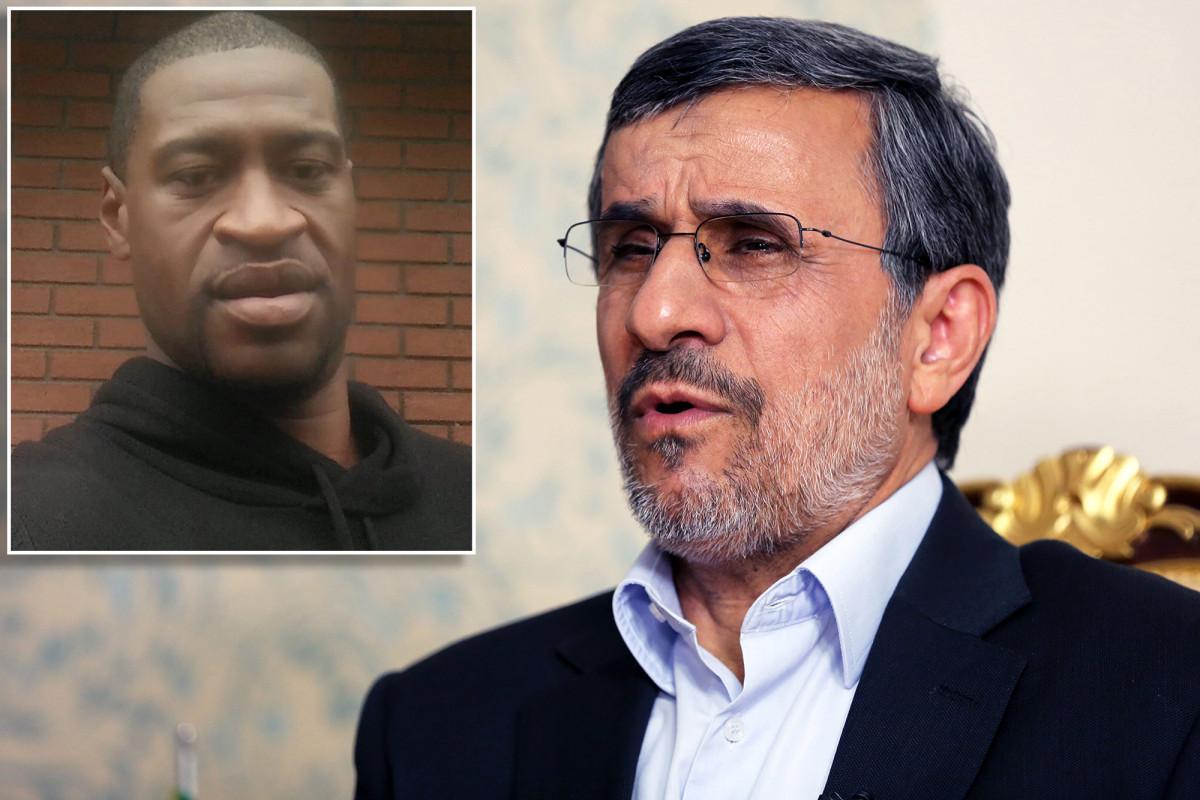 Mahmoud Ahmadinejad menggunakan N-word dalam tweet tentang George Floyd