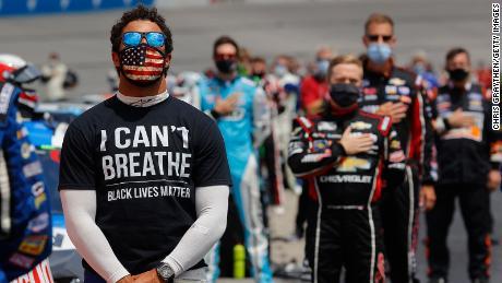Legenda NASCAR mendukung suara untuk protes George Floyd