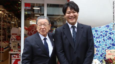 Presiden Sanrio Shintaro Tsuji menyerahkan perusahaan kepada cucunya, Tomokuni Tsuji.
