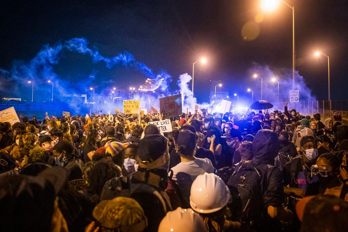 Polisi New Orleans mengakui menembakkan proyektil karet pada pengunjuk rasa