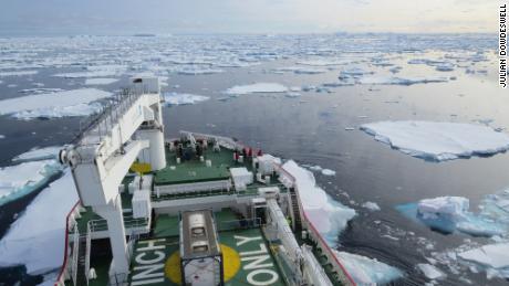 Lapisan es Antartika mampu mencair lebih cepat dari yang kita duga
