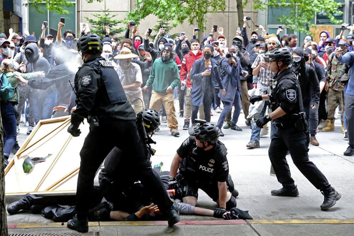 Seattle PD diblokir dari menggunakan gas air mata pada pengunjuk rasa: hakim