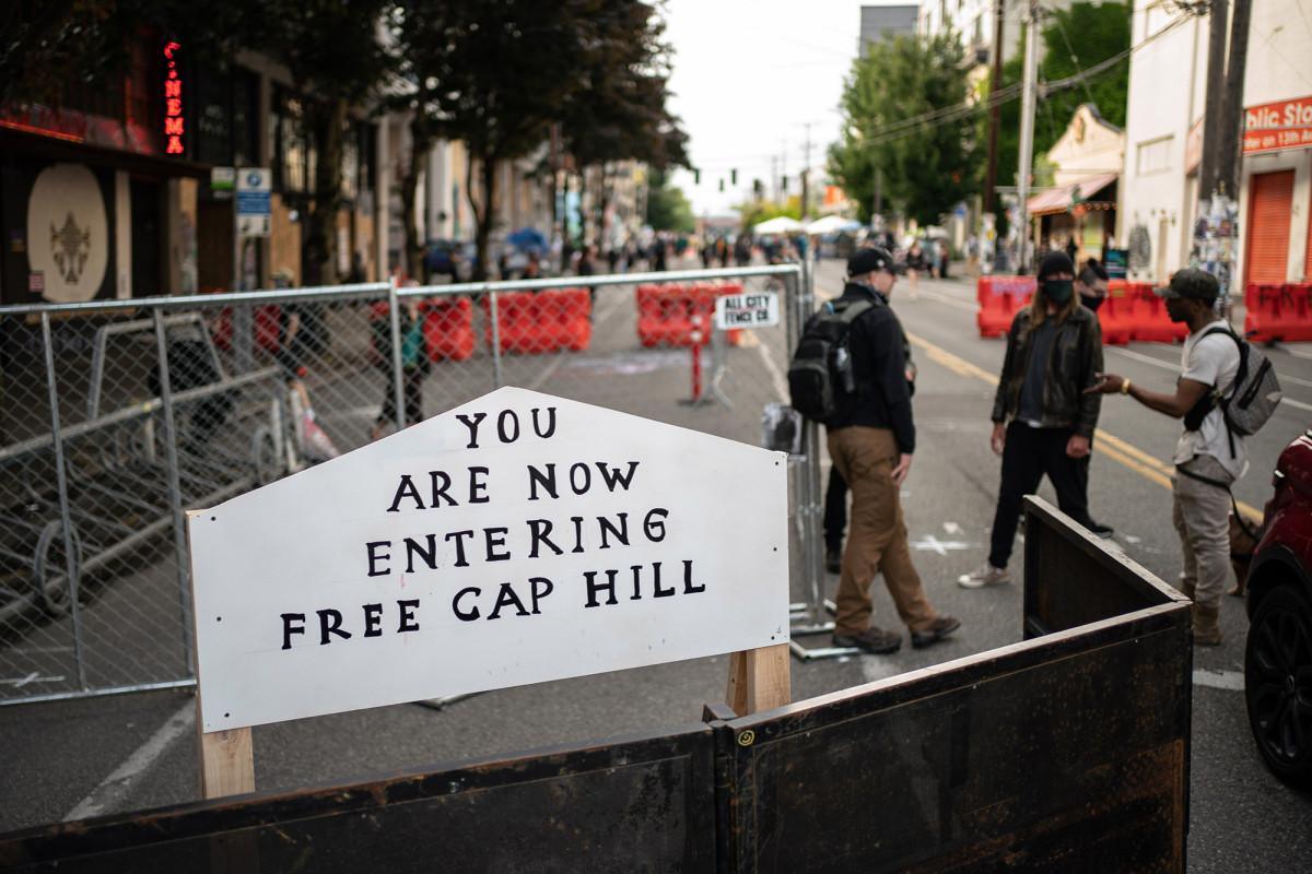 Sekilas tentang 'Zona Otonomi Capitol Hill' di Seattle