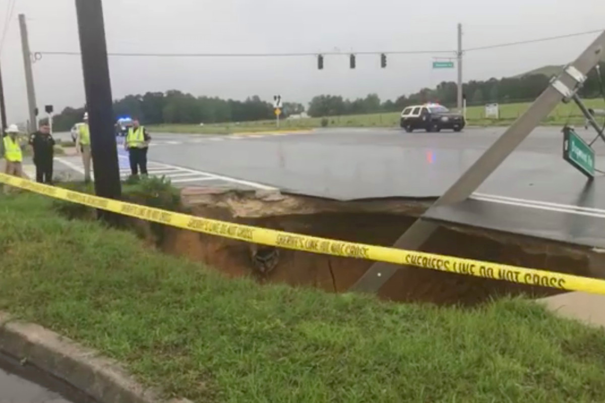 Tenggelam Florida menyebabkan kecelakaan setelah mematikan lampu lalu lintas