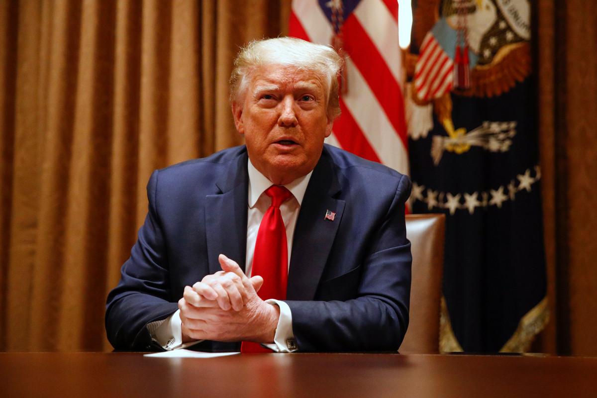 Trump bertemu dengan para pemimpin kulit hitam, membahas reformasi kepolisian