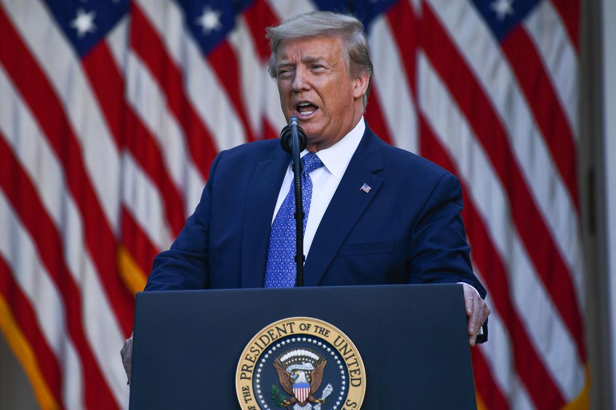 Trump menandatangani tandatangan eksekutif yang mempromosikan kebebasan beragama global