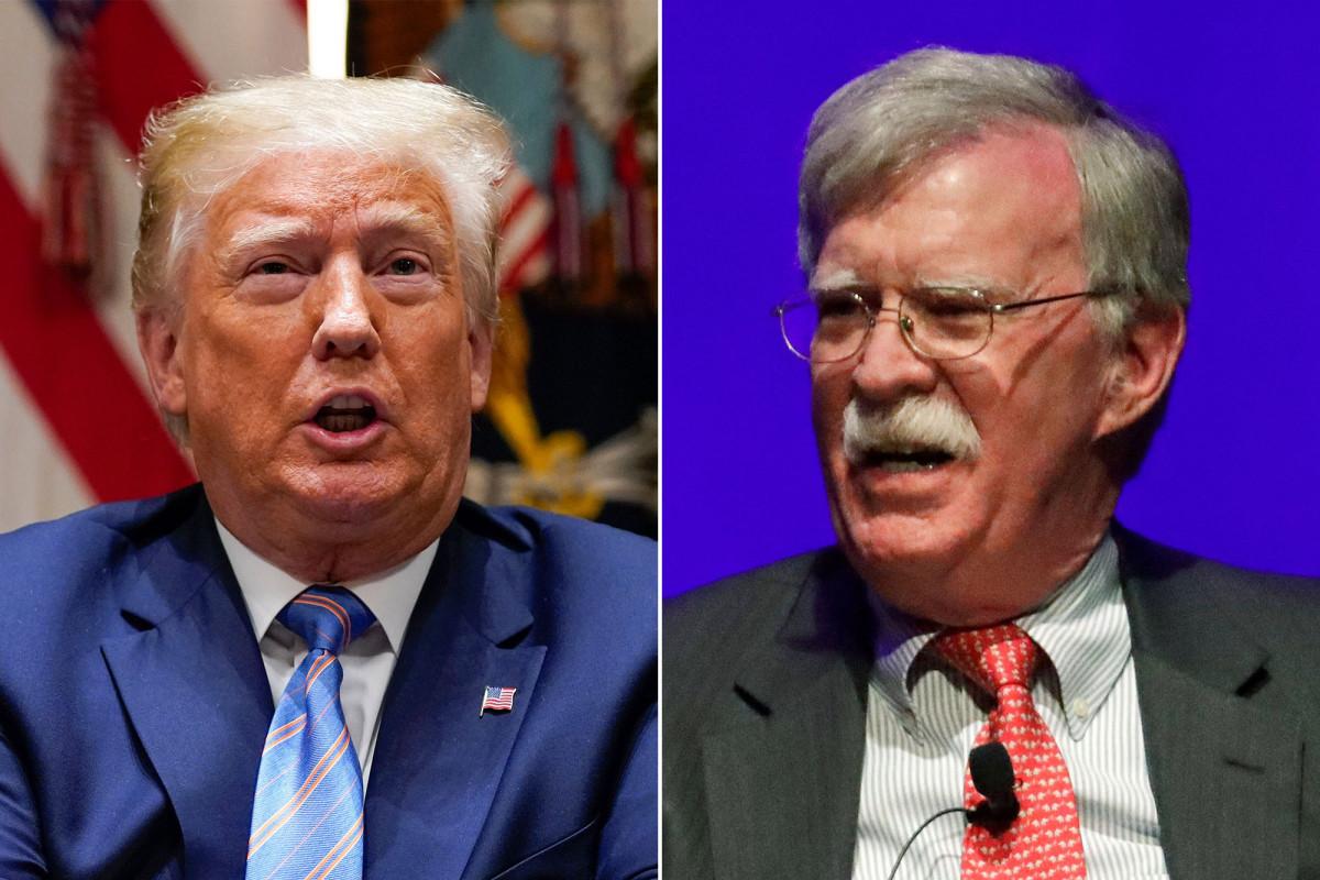 Trump mengatakan Bolton dapat menghadapi dakwaan kriminal untuk semua buku
