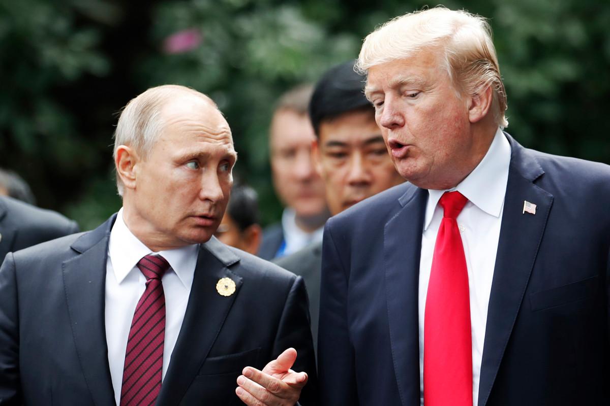 Trump mengatakan 'akal sehat' untuk membiarkan Rusia kembali ke G7