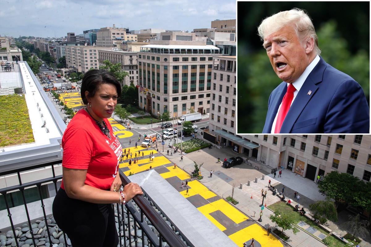 Trump menyebut Walikota Washington Muriel Bowser 'tidak kompeten'