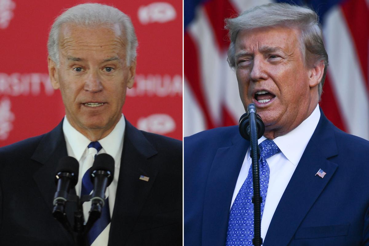 Trump retweet pidato Biden menyerukan 'hubungan dekat' dengan China