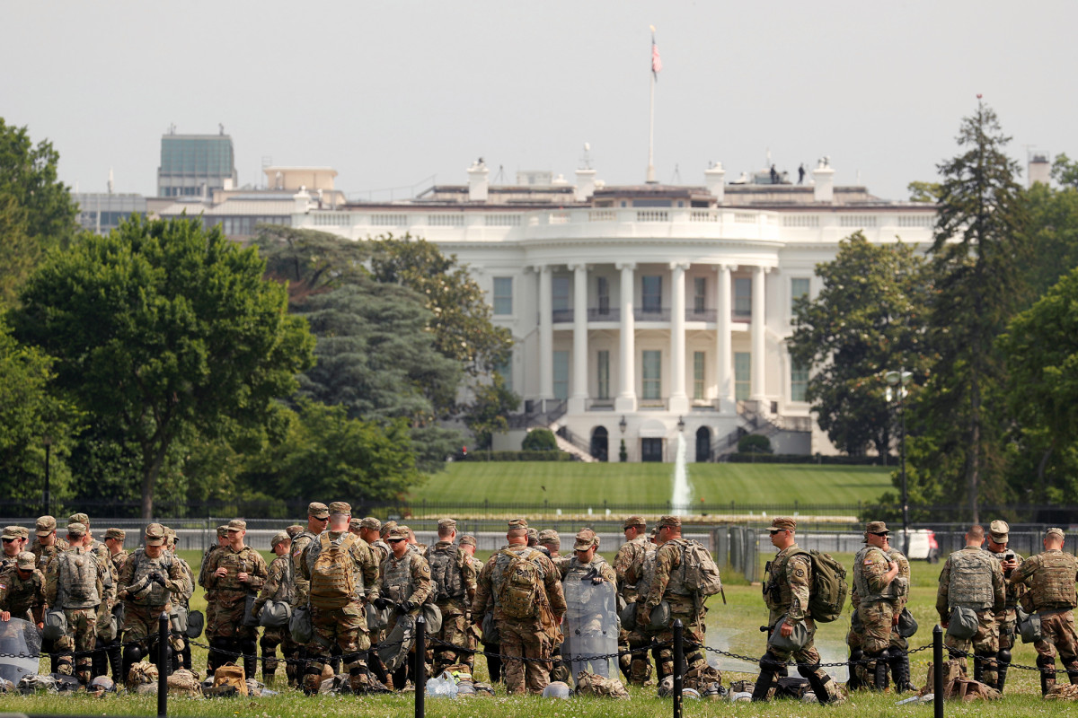 Washington, DC mempersiapkan protes besar-besaran George Floyd