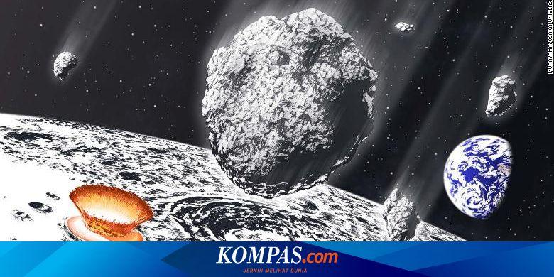 Hujan Asteroid Hantam Bumi dan Bulan 800 Juta Tahun Lalu, Ini Buktinya Halaman all